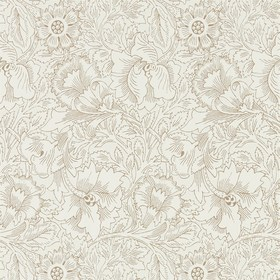 Morris & Co Pure Poppy Cream-Gold 216035