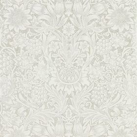 Morris & Co Pure Sunflower Chalk-Silver 216049