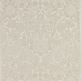 Morris & Co Pure Sunflower Pearl-Ivory 216048