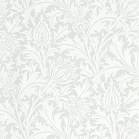 Morris & Co Pure Thistle Grey-Blue 216550