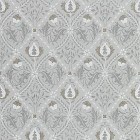 Morris & Co Pure Trellis Lightish Grey 216528