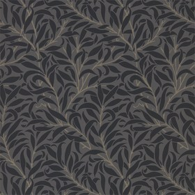 Morris & Co Pure Willow Bough Charcoal-Black 216026