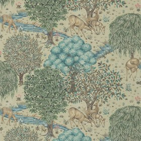 Morris & Co The Brook Linen 216478