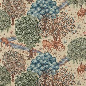 Morris & Co The Brook Tapestry Linen 224561