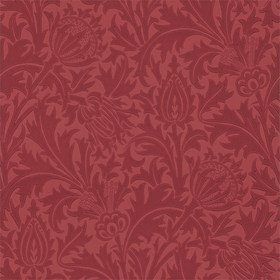 Morris & Co Thistle Red 210486