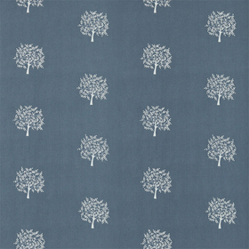 Morris & Co Woodland Tree Grey Blue-Ivory 234560