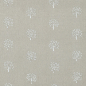Morris & Co Woodland Tree Linen-Ivory 234556