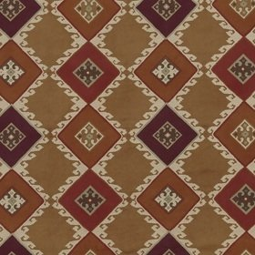 Mulberry Home Celtic Herringbone Sienna-Plum FD298-M37