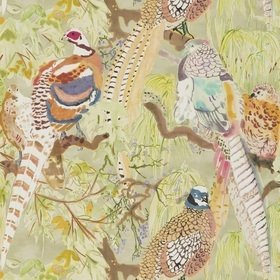 Mulberry Home Game Birds Multi FG085-Y101
