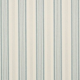 Mulberry Home Narrow Ticking Stripe Powder Blue FG067-H120