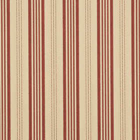 Mulberry Home Narrow Ticking Stripe Red-Sand FG067-V92