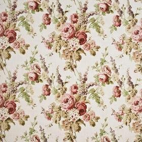 Mulberry Home Vintage Floral Pink-Green-Stone FD264-W121