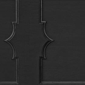 NLXL Wainscoting Black MRV-24