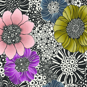 Missoni Home Anemones Black-Multi 10001