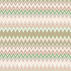 Missoni Home Zig Zag Multi Beige-Green 10065
