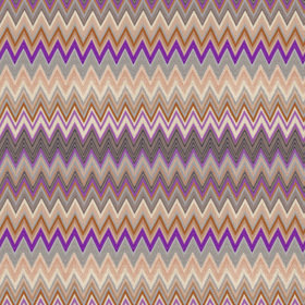 Missoni Home Zig Zag Multi Brown-Purple 10062