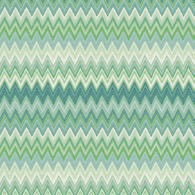 Missoni Home Zig Zag Multi Green-Teal 10063