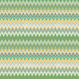 Missoni Home Zig Zag Multi Green-Yellow 20064