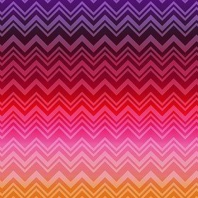 Missoni Home Zig Zag Sfumata Purple-Pink 20091
