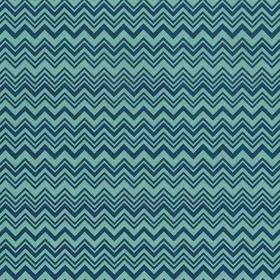 Missoni Home Zig Zag Teal Blue 10138