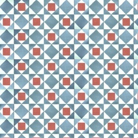 Coordonne Kaleido Blue-Grey-Red 3000017