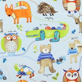 Prestigious Textiles Nature Trail Watercolour 5867-587