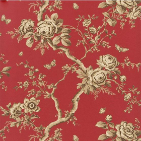 Ralph Lauren Ashfield Floral Balmoral Red PRL027-09