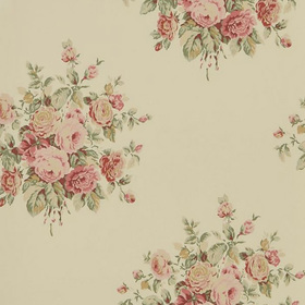 Ralph Lauren Wainscott Floral Antique Rose PRL707-06