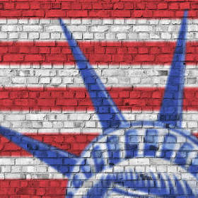 Rebel Walls Bricks Of Liberty R12251