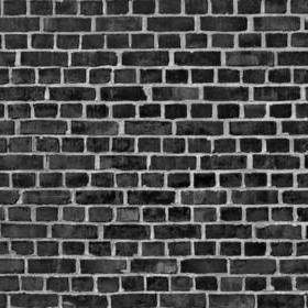 Rebel Walls Brick Wall Black R10962