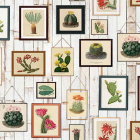 Rebel Walls Cactus Wall Art R15321