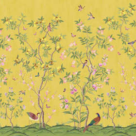 Rebel Walls Chinoiserie Chic Saffron R16745