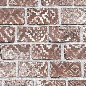 Rebel Walls Decorated Bricks Red R15231