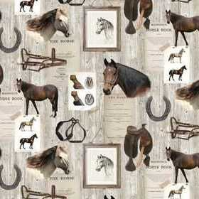 Rebel Walls Horse Mania R15551