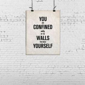 Rebel Walls Poster Brick Wall R12404