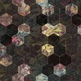 Rebel Walls Vinum Hexagon R16241