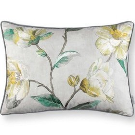 Romo Japonica Embroidery Cushion Cypress RC701-02