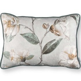 Romo Japonica Embroidery Cushion Eucalyptus RC701-01