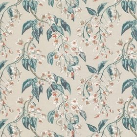 Romo Wisteria Embroidery Cayenne 7851-03