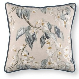 Romo Wisteria Embroidery Cushion Cumin RC706-01