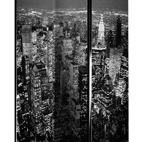 Arthouse Black & White New York Room Divider 008106