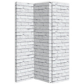 Arthouse White Brick Room Divider 004622
