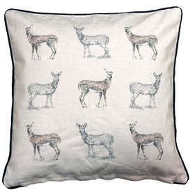 S.J. Dixon Deer Printed Cushion 008255