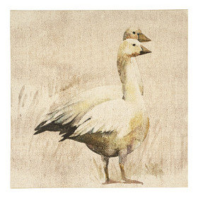 S.J. Dixon Geese Printed Canvas 003698