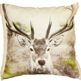 S.J. Dixon Stag Cushion 008256