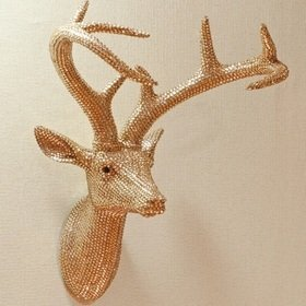 S.J. Dixon Star Studded Stag Head Champagne 008218