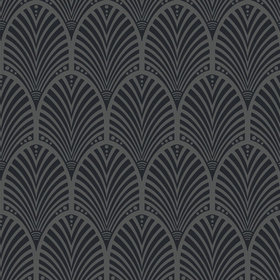 Holden Decor For S.J. Dixon Gatsby Charcoal 65250