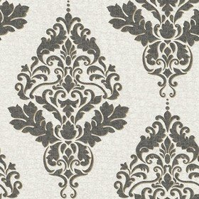 Holden Decor For S.J. Dixon Hadrian Damask Charcoal 35505
