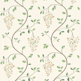 Sanderson Asami Embroidery Ivory-Linen DASA232312