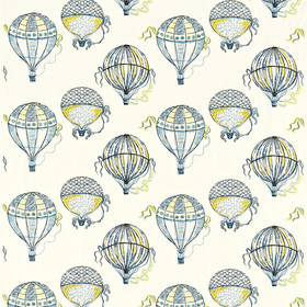Sanderson Beautiful Balloons Cobalt-Yellow DBLL232297